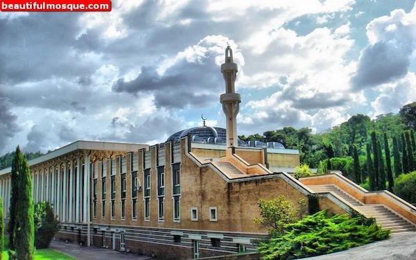 Rome Grand Mosque Fullview