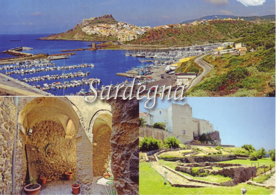 Póstkort frá Sardiníu