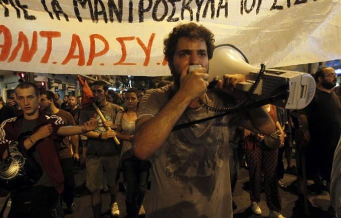 Grécia - Berço e Morte da Democracia (Foto: Agência Efe )