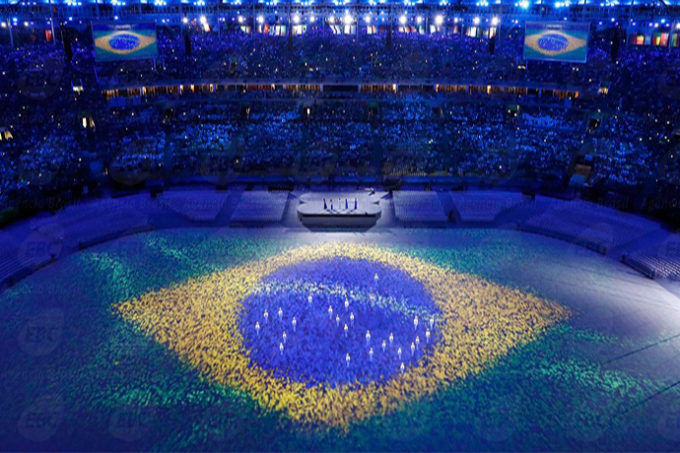 Rio de Janeiro - Cerimônia de encerramento dos Jogos Olímpicos Rio 2016, no Maracanã ( REUTERS/Fabrizio Bensch/Direitos Reservados)