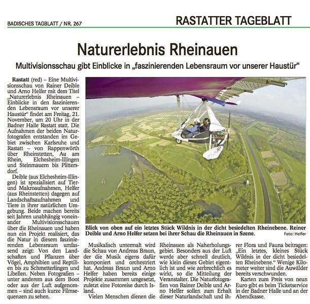 Naturerlebnis Rheinauen