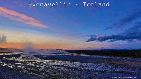 Geothermalgebiet Hveravellir - Island