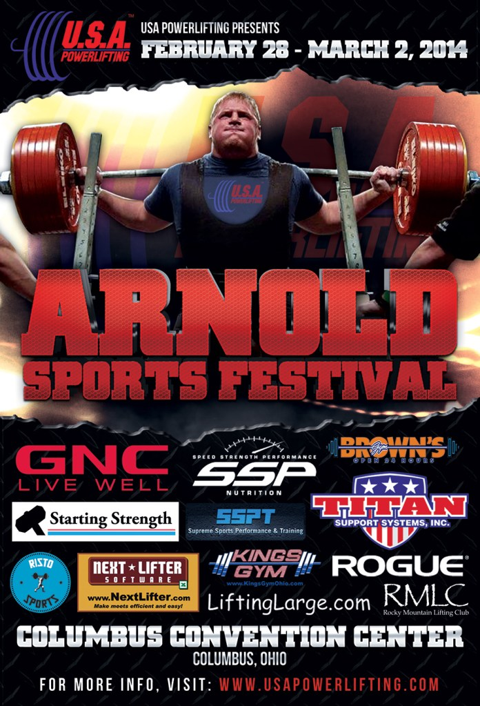 Arnold Sports Festival Poster - 2014
