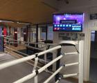 <h5>Wettkampf Boxring mit TV</h5><p></p>