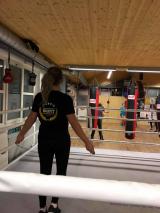 <h5>Boxtraining für Frauen</h5><p>Montag: 09:30 - 10:30 Uhr, Mittoch 18:30 - 19:30 Uhr, Freitag: 19:30 - 20:30 Uhr</p>