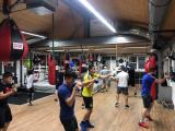 <h5>Boxfit Training macht immer Spass und macht Fit</h5><p>Mo, Mi & Fr: 12:00 - 13:00 Uhr, Di & Do: 18:30 - 19:45 Uhr, Fr. 18:00 - 19:15 Uhr, Sa: 10:00 - 11:00 Uhr</p>