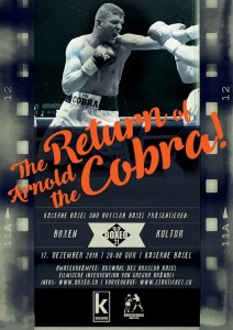 BOXEO 31: The Return of Arnold the Cobra