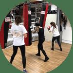Fitnessboxen exklusiv für Frauen