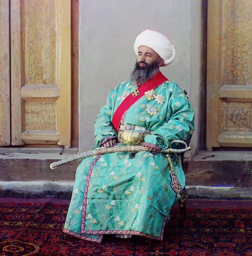 """Kush-Beggi . Minister Spraw Wewnętrznych. Najprawdopodobniej nazwa pochodzi od """"Kushbegi"""", tytułu drugiego najwyższego  urzędnika  w Bucharze."""