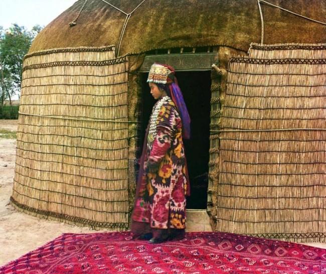 Portret kobiety (Centralna Azja)