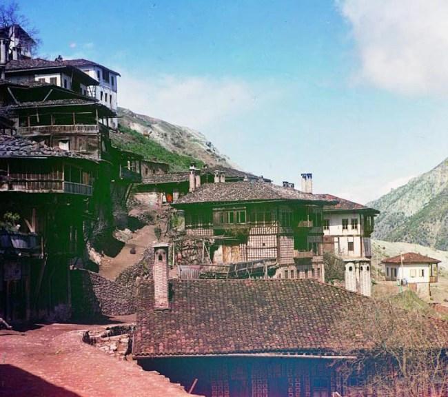 Wschodnia część Tbilisi.