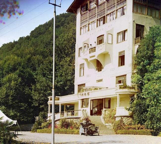 Gagra. Kurort w Abchazji nad Morzem Czarnym