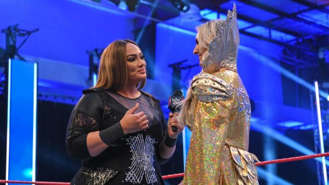 Nia Jax and Charlotte Flair