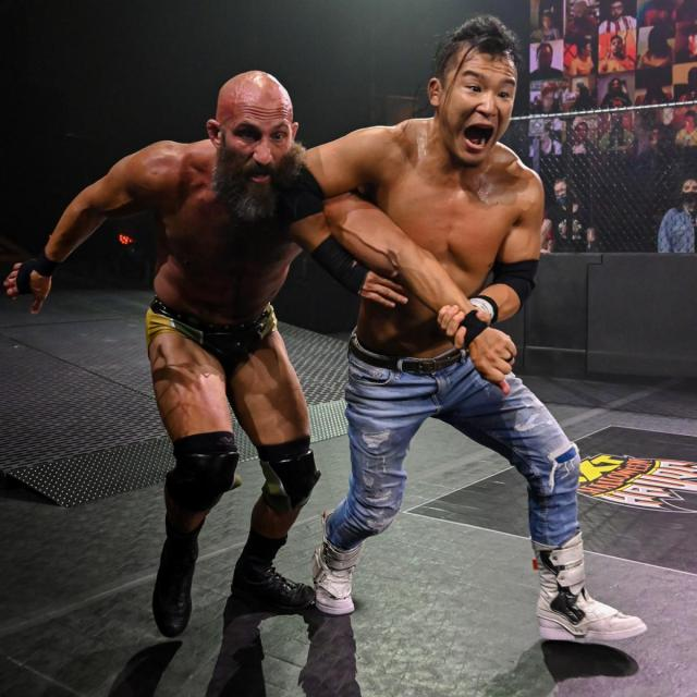 Kushida and Tommaso Ciampa