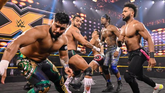 Legado del Fantasma, Ashante 'Thee' Adonis, Jake Atlas, and Isaiah 'Swerve' Scott