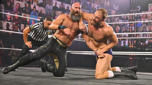 Tommaso Ciampa and Timothy Thatcher