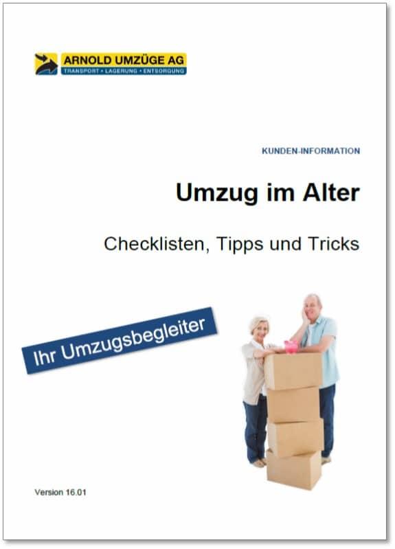 Umzug im Alter Checkliste