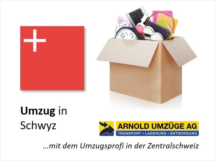Umzug im Kanton Schwyz