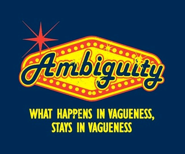 What happened in vagueness? | Arnold Zwicky's Blog