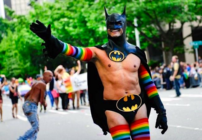 from Trace gay batman costume