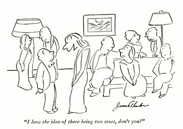 Thurber's cartoon