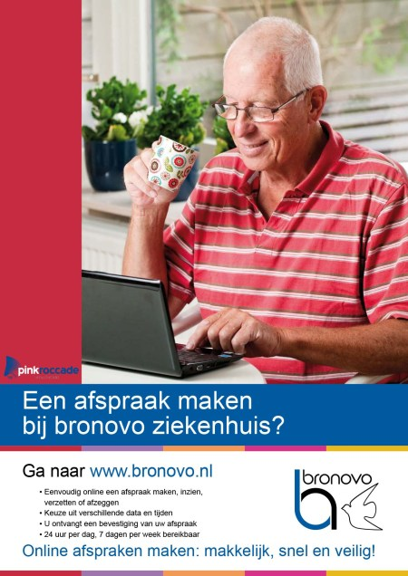 Bronovo advertentie