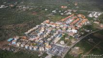 Curaçao vanuit de lucht - Kunuku Aqua Resort