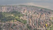 Typische Britse woonwijk