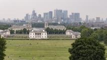 University of Greenwich & Canary Wharf - Panorama