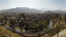 Uitzicht over Panauti