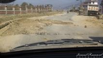 Typische Nepalese weg