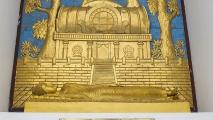 Beeld in de World Peace Pagoda