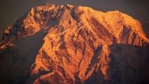 Zonsopkomst in de Himalaya