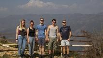 Jeanine, India, Pascal, Ayden, Arnoud