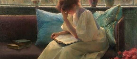 Naakt of lezend op het schilderij?