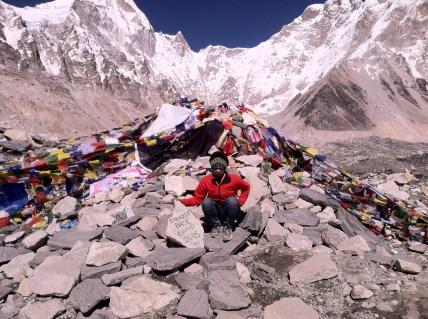 Me at Everest Basecamp