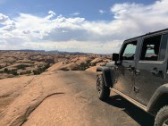 There was a little skid plate damage acquired, but otherwise the jeep performed beautifully on the trail.