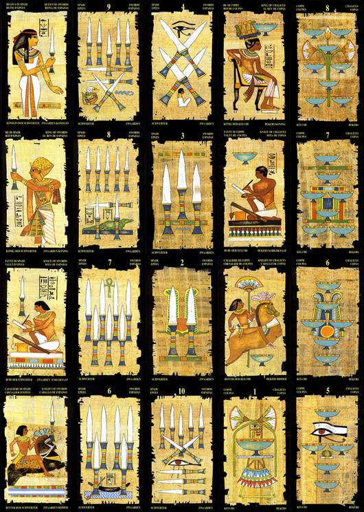 Tarot Egipcio. Una baraja con historia