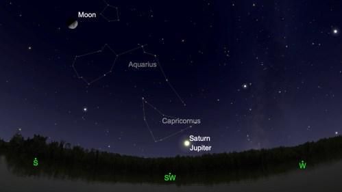 Júpiter y saturno