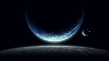 Saturno y Júpiter