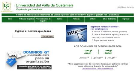 ccTLD Guatemala