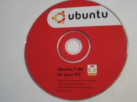 CD - Ubuntu 7.04 Festy Fawn