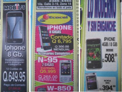 iphone en clasificados