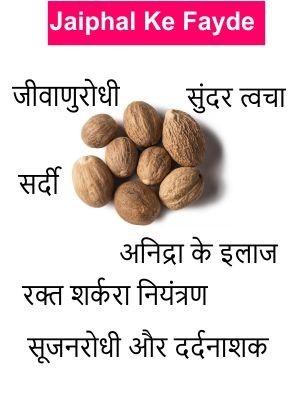 Health Benefits of Nutmeg in Hindi | Jaifal ke Fayde