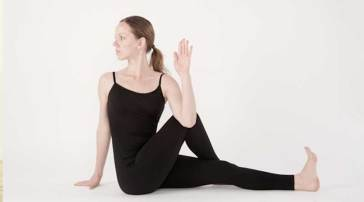Image result for seated spinal twist