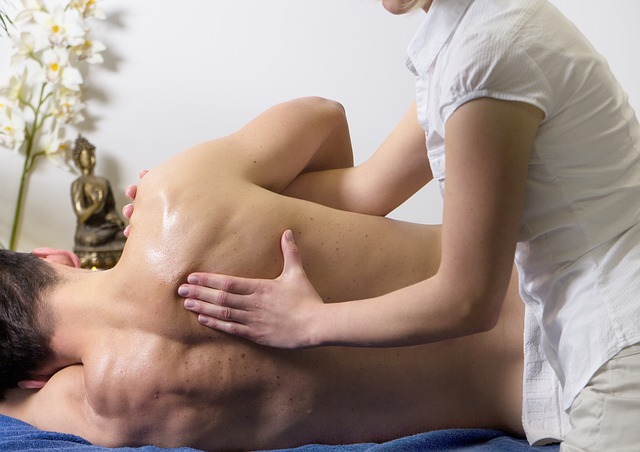 Huile massage sportif