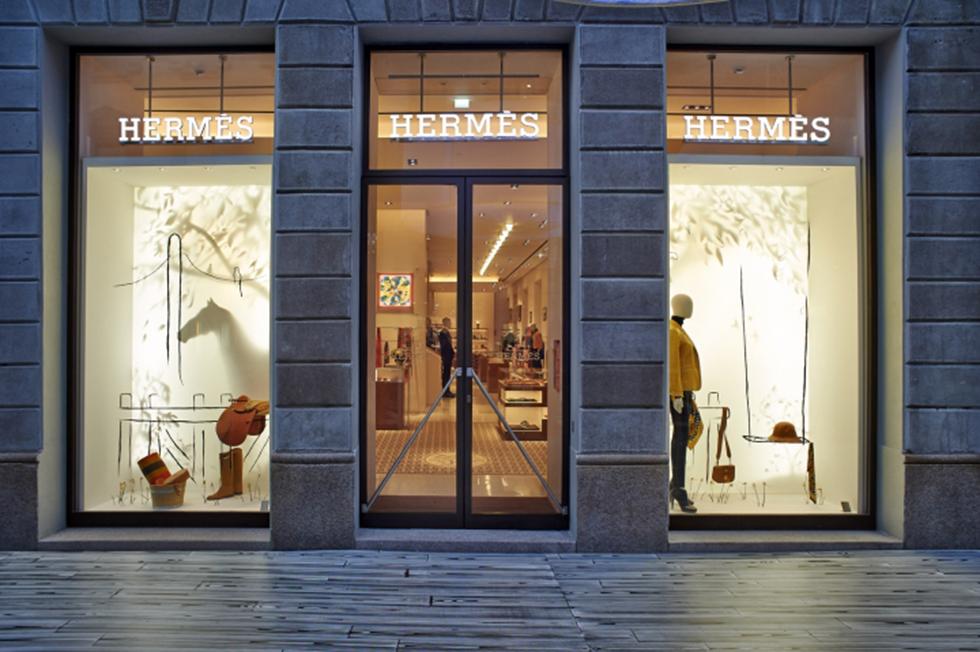 Hermes магазин