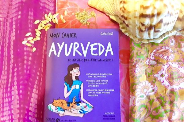 livre Mon cahier Ayurveda