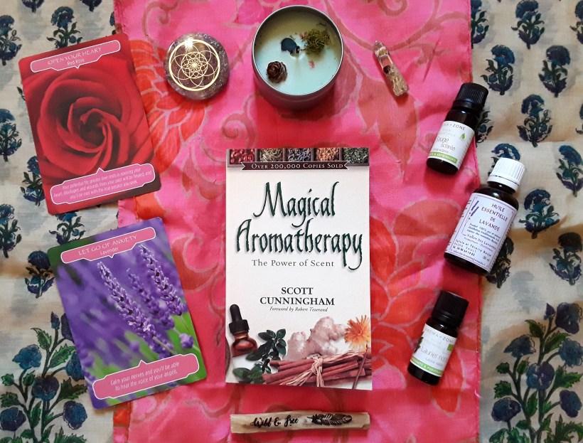 livre aromathérapie magique
