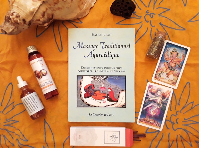 livre massage traditionnel ayurvédique